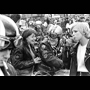 Rod Williams Photography. Black and white photograph of London, 1968. Bikers' Rally